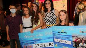 63 tisíc korun pro nemocné děti díky Dívce roku 2016